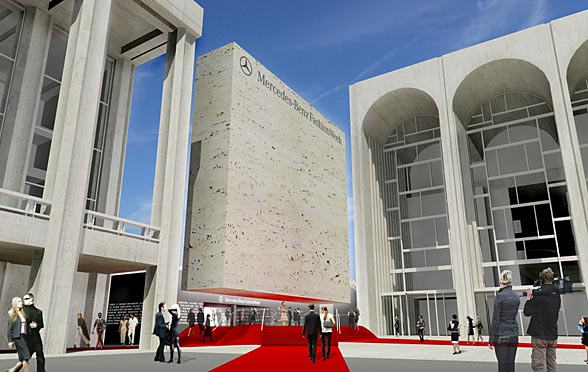 Plans Unveiled For First Season Of Mercedes-Benz Fashion Week At Lincoln Center